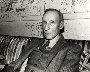 The avuncular W.S. Burroughs.